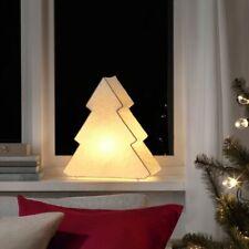 "IKEA STRALA Christmas Tree Table Decoration Lamp White 15"" NEW 2020"
