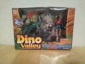 Chap MEI Dino Valley Small Dinosaur Playset Factory Sealed 2007
