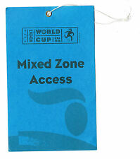1999 Womens USA FIFA Soccer World Cup Zone Access Pass ticket Mia Hamm Chastain