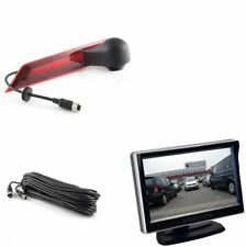 Ampire Rückfahrkamera Monitor Set Ford Transit Custom / Halogen Rücklicht