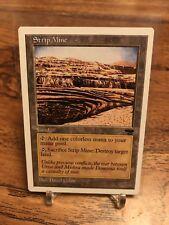 Rare Magic The Gathering MTG Strip Mine x1 Near Mint (NM) Anthologies