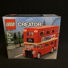 LEGO PROMO 40220 Creator Exclusive London Red Double Decker Bus NEW SEALED BOX