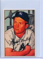 MICKEY MANTLE - 1952 BOWMAN REPRINT - CARD #101 - WITH FREE SHIPPING