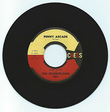 BOBBY LESTER & THE MOONGLOWS PENNY ARCADE ON CHESS  STRONG VG ORIGINAL 1ST PRESS