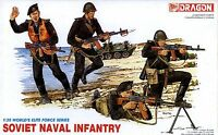 Dragon 1/35 3005 Soviet Naval Infantry (World's Elite Force Series) (4 Figures)
