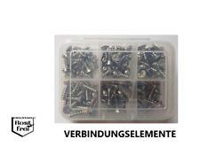 PT-Schrauben Sortiment Senkkopf mit Kreuzschlitz Ø 3,5 125 Teile EDELSTAHL A2