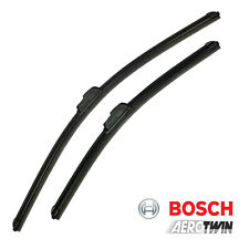 BMW Z4 (E89) 09-15 Bosch Aerotwin Flat Front Windscreen Wiper Blades Set Pair