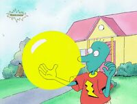 DOUG FUNNIE Original Production Cel Animation 1990's Nickelodeon Skeeter Bubble