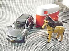405 Kids globe traffic ® volvo xc90 + roja caballos seguidores 1:32 nuevo sin OVP