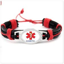 Diabetic medical alert bracelet (Breast cancer Charity fundraiser )