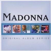 "MADONNA ""ORIGINAL ALBUM SERIES"" 5 CD NEW!"