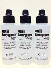 OPI - Nail Lacquer Thinner 2 fl.oz/60ml - Set of 3 bottles