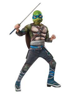 Rubie's Costume Kids Teenage Mutant Ninja Turtles Deluxe Leonardo Costume, Large