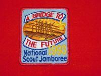 VINTAGE BSA BOY SCOUTS OF AMERICA PATCH 1993 NATIONAL SCOUT JAMBOREE BRIDGE