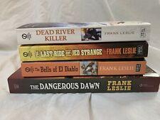 Frank Leslie Lot of 4 western books