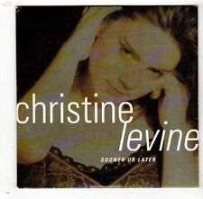 (FW866) Christine Levine, Sooner Or Later - 1998 DJ CD