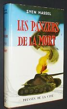 SVEN HASSEL / LES PANZERS DE LA MORT GRAND FORMAT 1959