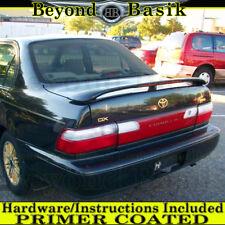 For 1993 1994 1995 1996 1997 Toyota Corolla Factory Style Spoiler w/Led Primer