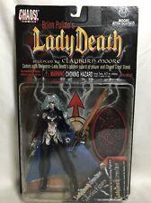 Lady Death Action Figure Sci-fi Fantasy Chaos Comics Chrome Edition 1997