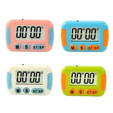 Kitchen LCD Digital Timer Cooking Count Down Up Clear Loud Large  Alarm Magnetic