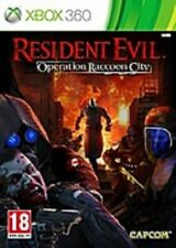 RESIDENT EVIL  OPERATION RACCOON CITY       --     pour X-BOX 360