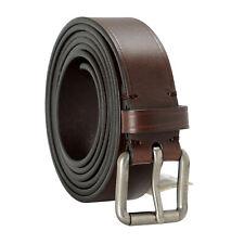 Burberry Men's Brown Leather Belt Sz 36 38 40