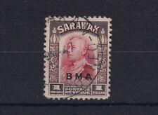 SARAWAK 1945 BMA Overprint $1 Scarlet and Sepia SG140 USED