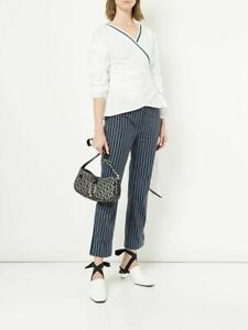 DIOR Christian Dior Vintage Trotter Shoulder Bag