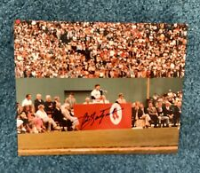 "8"" X 10"" Carl Yastrzemski  Autographed photo From ""Yaz Day"""