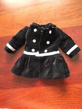 American GIRL BLACK Velvet Jacket Overcoat