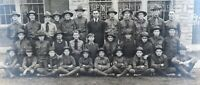 .RARE / LARGE c1920 DANVILLE, KENTUCKY USA SCOUTS GROUP PHOTO.