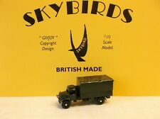 Skybirds Models.  Austin 3 Ton Army Lorry.