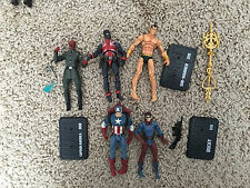 "Marvel Universe Iot 4"" CAPTAIN AMERICA RED SKULL NAMOR UNION JACK BUCKY Invaders"