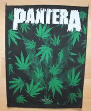 Pantera , Cannabis Leafs Backpatch, Vintage 1993, rar, rare