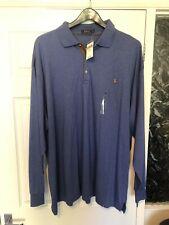 Polo Ralph Lauren Blue Long Sleeve Lightweight Polo 4XB