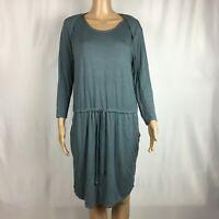 New Stitch Fix LAmade Slate Blue Drawstring Dress Size Large