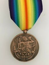 SUPERIOR QUALITY Siam Siamese WWI Victory Medal Bronze Finish Full Size