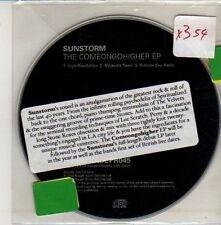 (CM563) Sunstorm, The Comeongohigher E.P. - 2002 DJ CD
