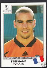 PANINI CALCIO ADESIVO-UEFA CHAMPIONS LEAGUE 1999-00 - N. 138-Marsiglia