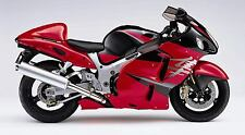SUZUKI TOUCH UP PAINT KIT GSX1300R 2005 RED AND BLACK .