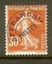 """FRANCE STAMP TIMBRE PREOBLITERE N° 58 """" SEMEUSE 30c ROUGE """" NEUF xx TB"""