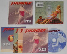 Thunder - The Thrill Of It All - U.K. cd with 4 postcards