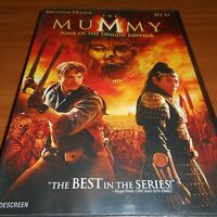 The Mummy: Tomb of the Dragon Emperor (DVD, Widescreen 2008)