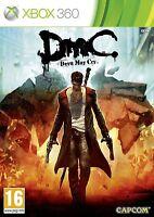 Xbox 360 Game DMC - Devil May Cry 5 V NEW