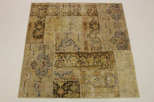 moderne Patchwork Délavé Used Look PERSAN TAPIS tapis d'Orient 1,60 X1, 59