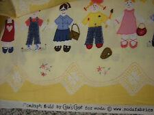 "6 3/4 Yards Moda Fabrics Children ""Chloe's Closet"" 100% Cotton Fabric"