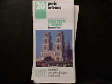 Carte IGN 20 paris orleans 1985