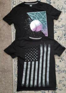 Lot Of Boys T Shirts Size 10 - 12 Medium Old Navy Arizona Black Flag Baseball