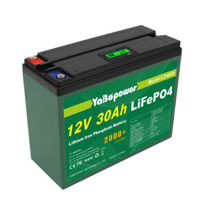 LIFEPO4 Pack Rechargeable Battery Lithium Iron Phosphate Battery