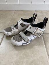 Specialized Trivent Expert Triathlon Road Bike Shoes Men's Us 9 Eu 42